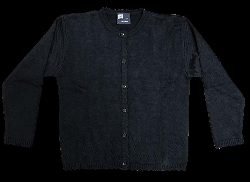 Sweater - Pointelle - Navy