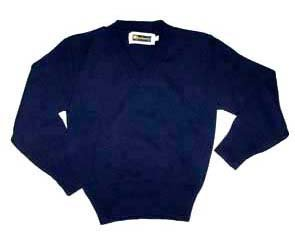 SHB V-Neck Sweater - Navy