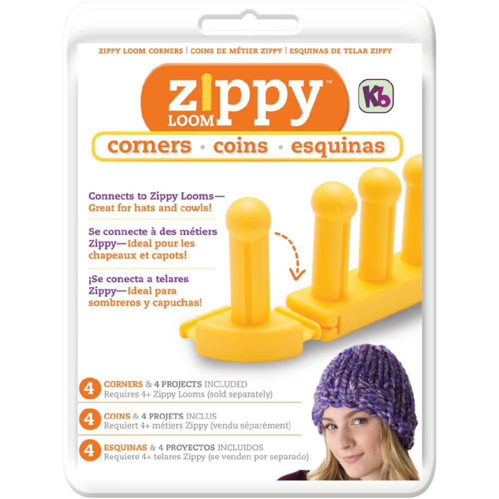 Knitting Loom Zippy Corner