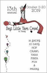 2019 Hill Country Yarn Crawl Passport