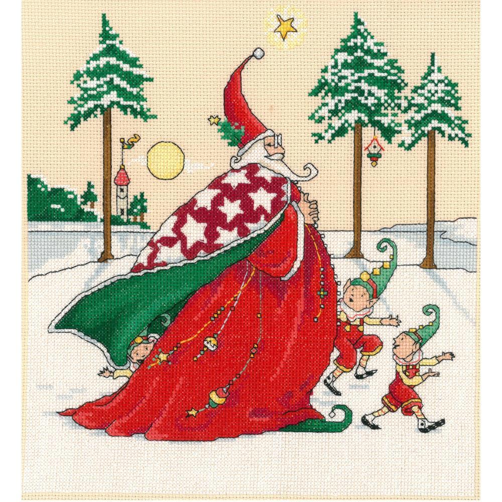 Christmas Wizard 10x10 14ct
