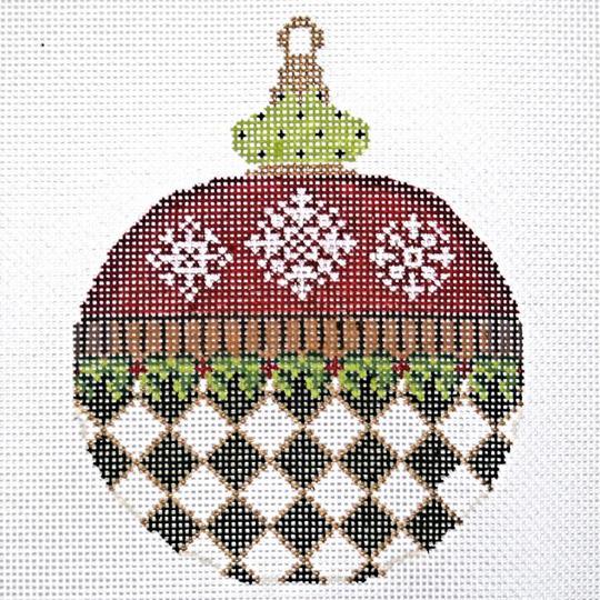 KCN Zero Degrees North Ornament