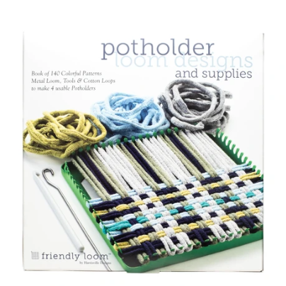 Potholder Loom Kit and Book