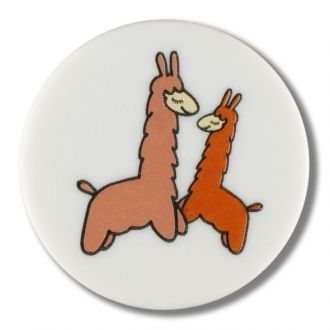 Button Llama shank