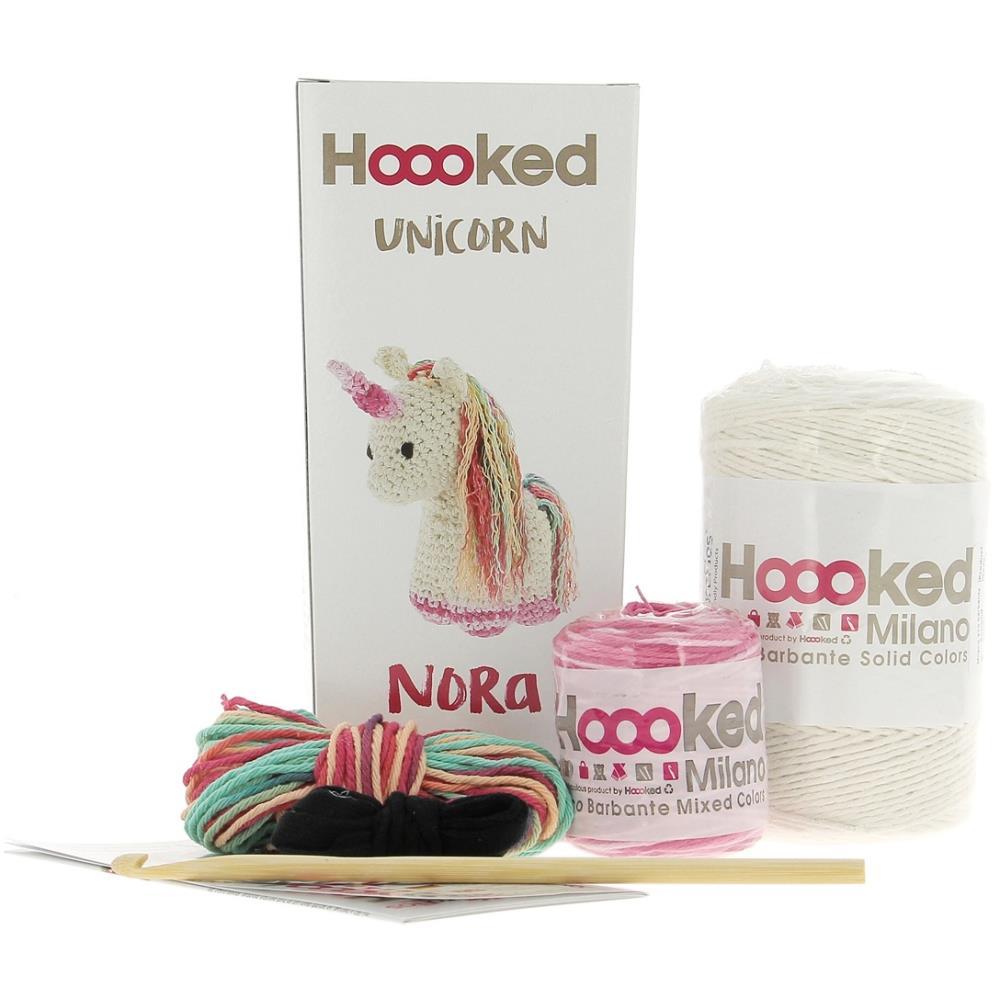 Hoooked Yarn Kit Unicorn Nora
