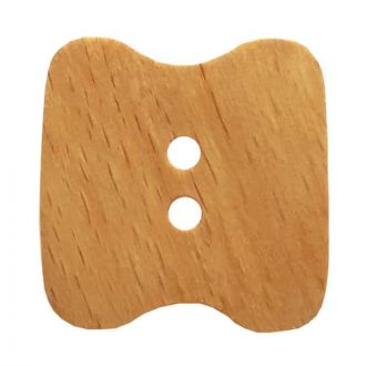 Button Wood 28mm