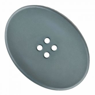 Button Poly Oval 30mm