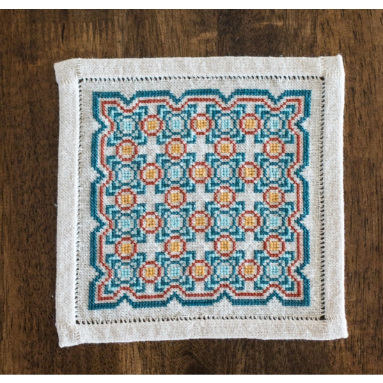 Embroidery Kit BitKit Salerno Tile