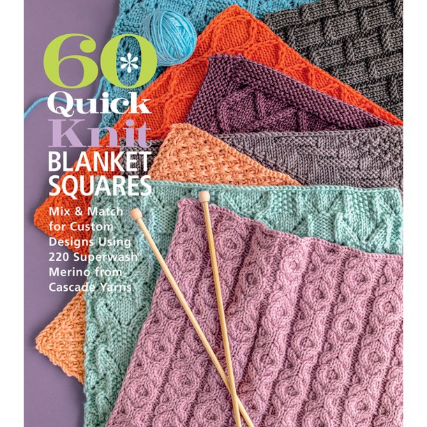 60 Quick Knits Blanket Squares