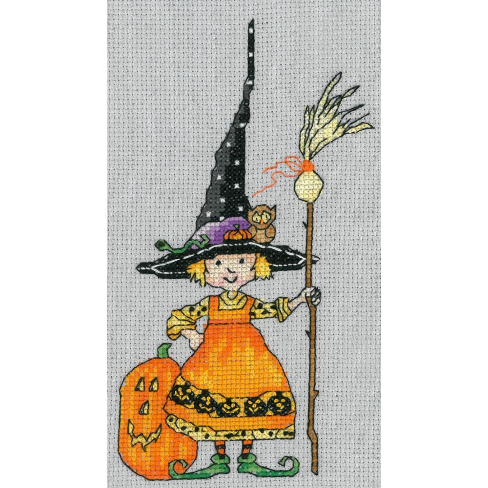 Teeny Witch 4x7 14ct