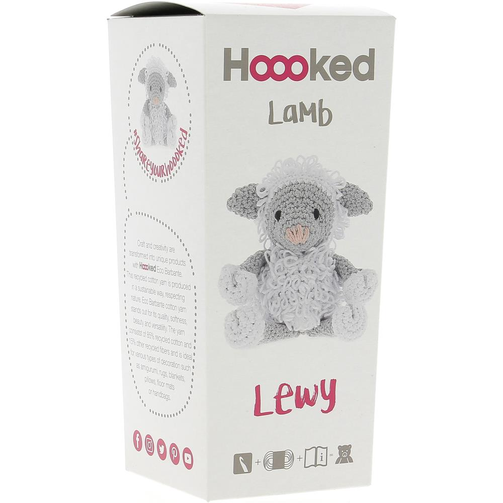 Hoooked Yarn Kit Lamb Lewy