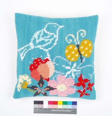 Pillow Bird and Butterfly Cushion