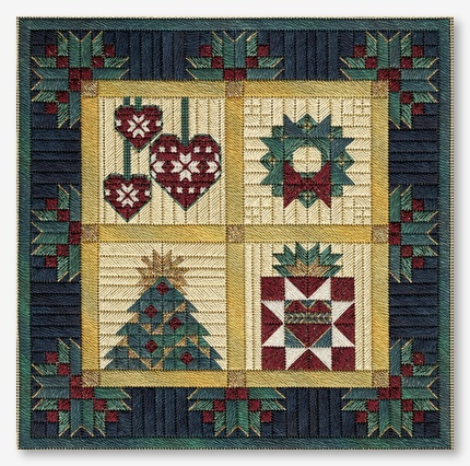 Christmas Barn Quilts