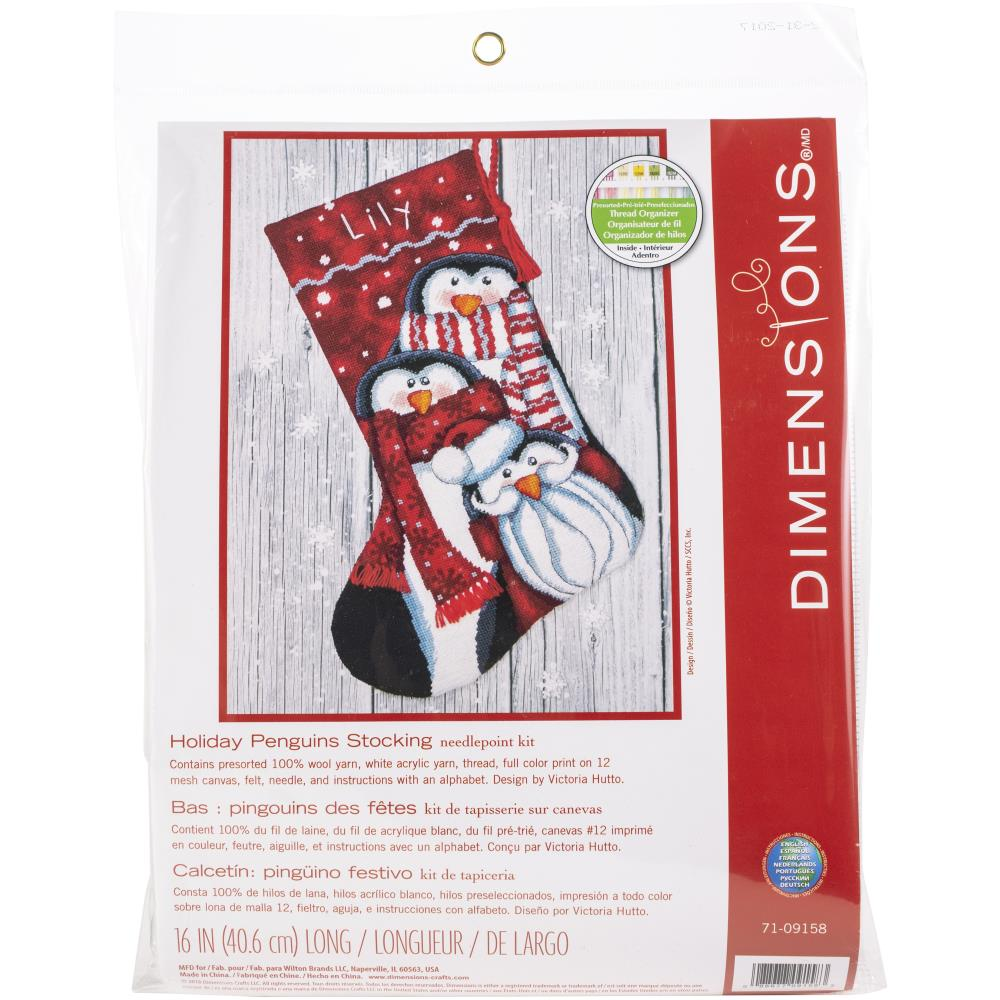 Dimensions Needlepoint Stocking 16