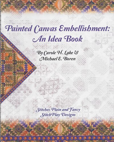 Painted Canvas Embellishment: An Idea Book