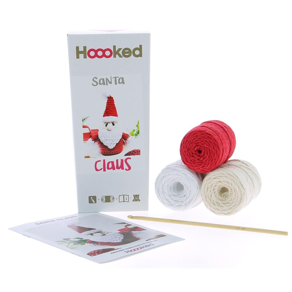 Hoooked Yarn Kit Santa Claus