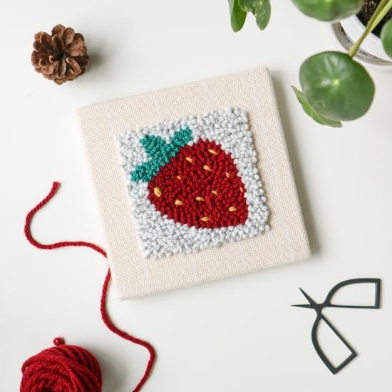 Punch Box - Strawberry 8x8