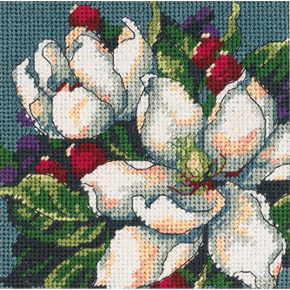 Dimensions Needlepoint 5x5in Magnolia