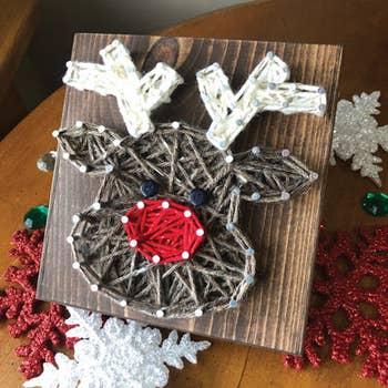 String Art Kit Holiday Winter