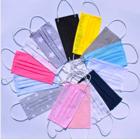Face Masks Pleated