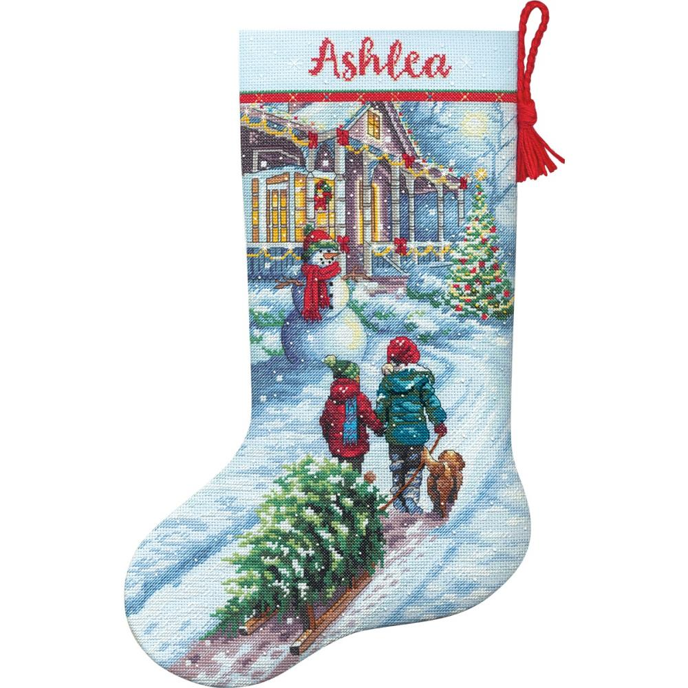 Dimensions Christmas Tradition Stocking