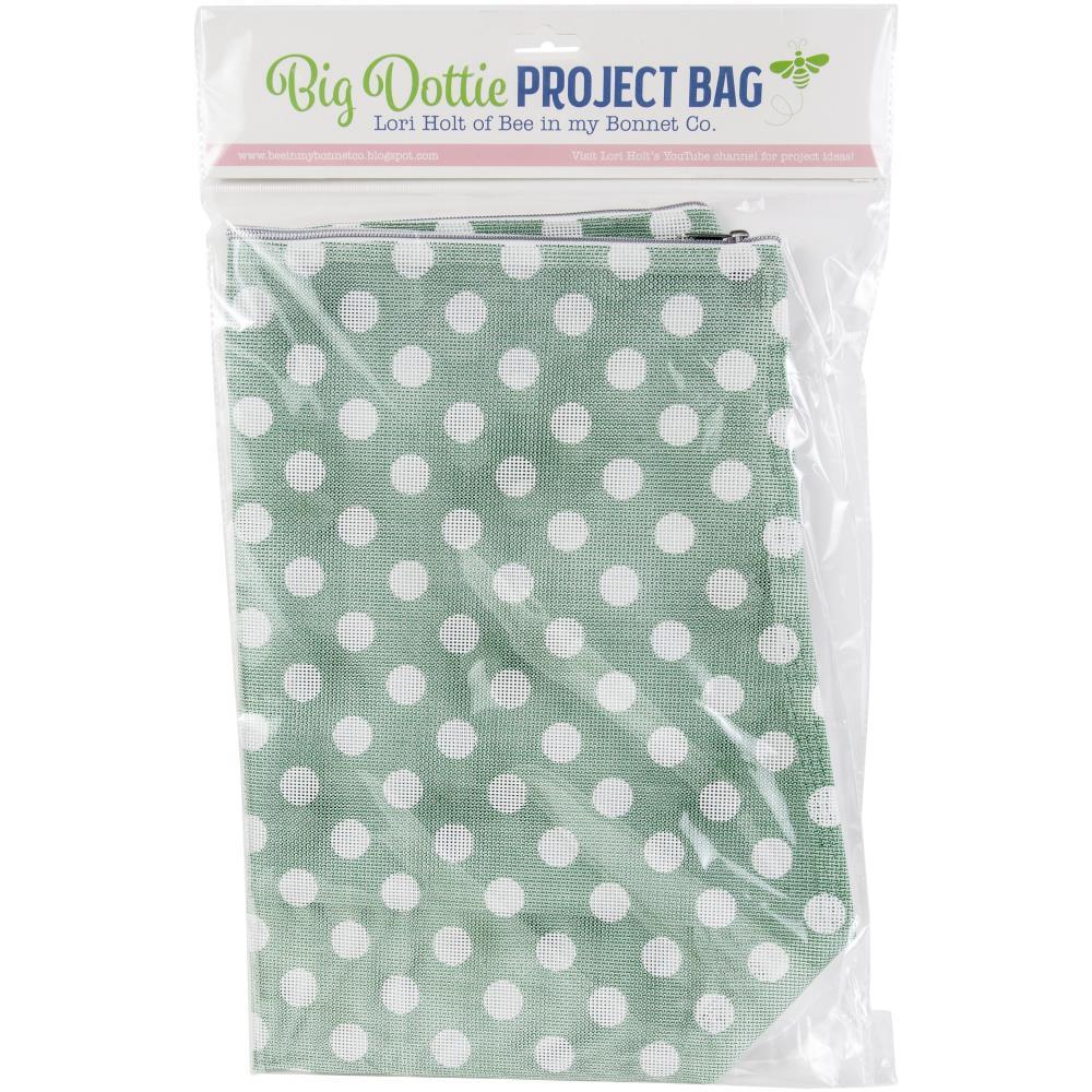 It's Sew Emma Mesh Project Bag Big Dottie