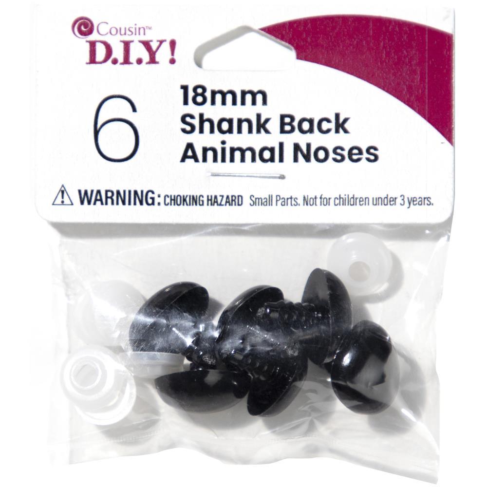 Shank Back Animal Noses 18mm