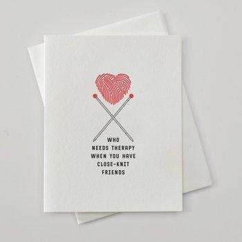 Card Red Oak Press