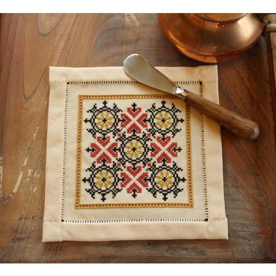 Embroidery Kit BitKit Athenian Compass