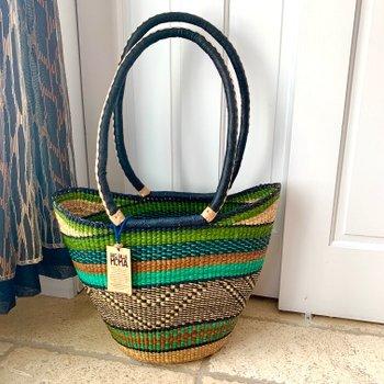 Bolga Basket Shoulder Shopper