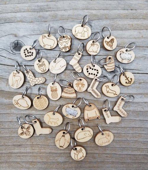 Stitch Marker Katrinkles RING (Knit)