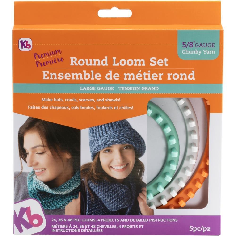 Knitting Loom KB Chunky Round Loom