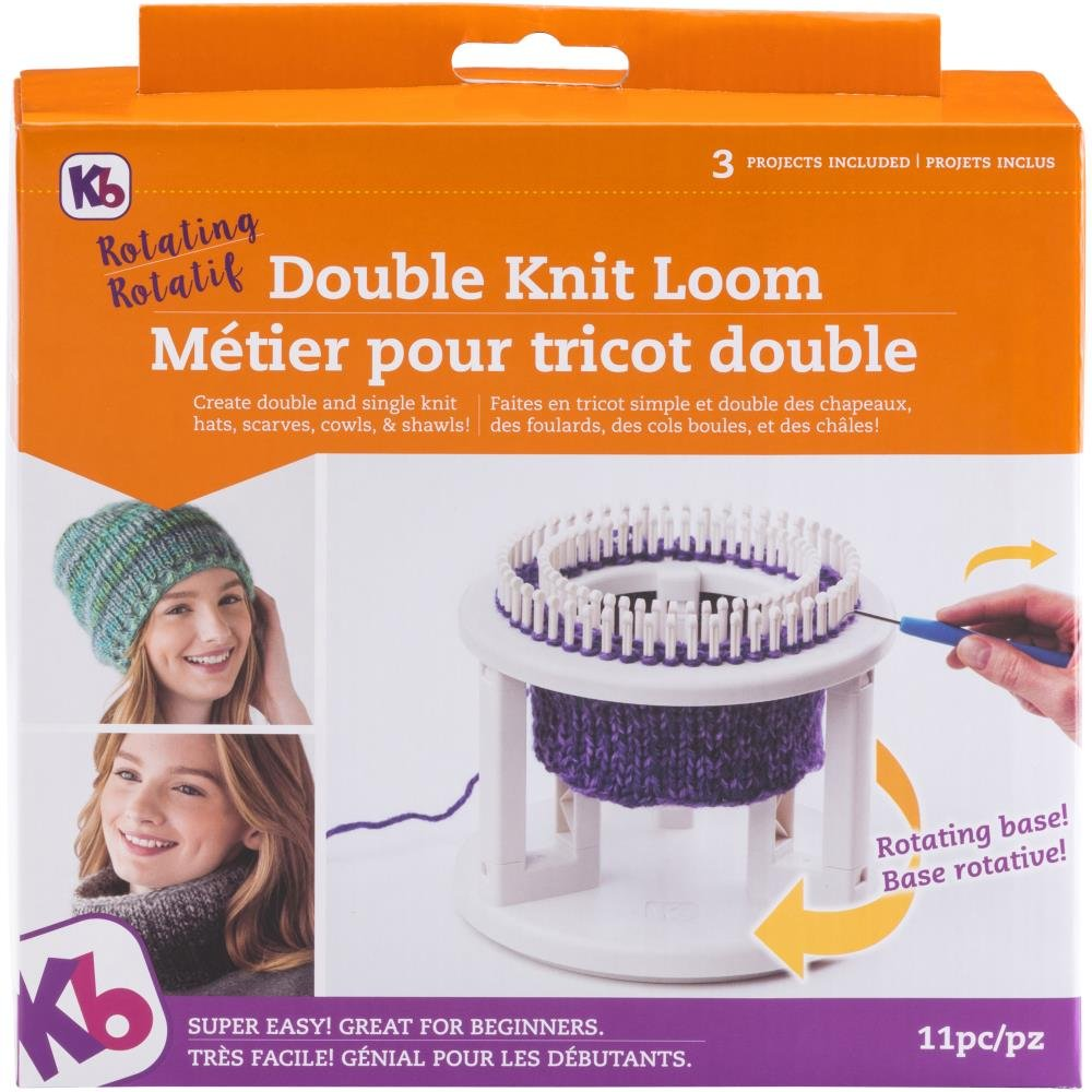 Knitting Loom KB Double Knit Loom Rotating