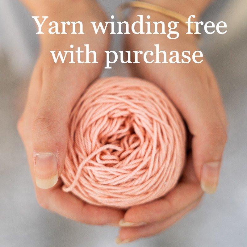 Yarn Winding FREE with yarn purchase