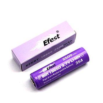 Efest 18650 IMR 2500 mAh 35 A Flat Top
