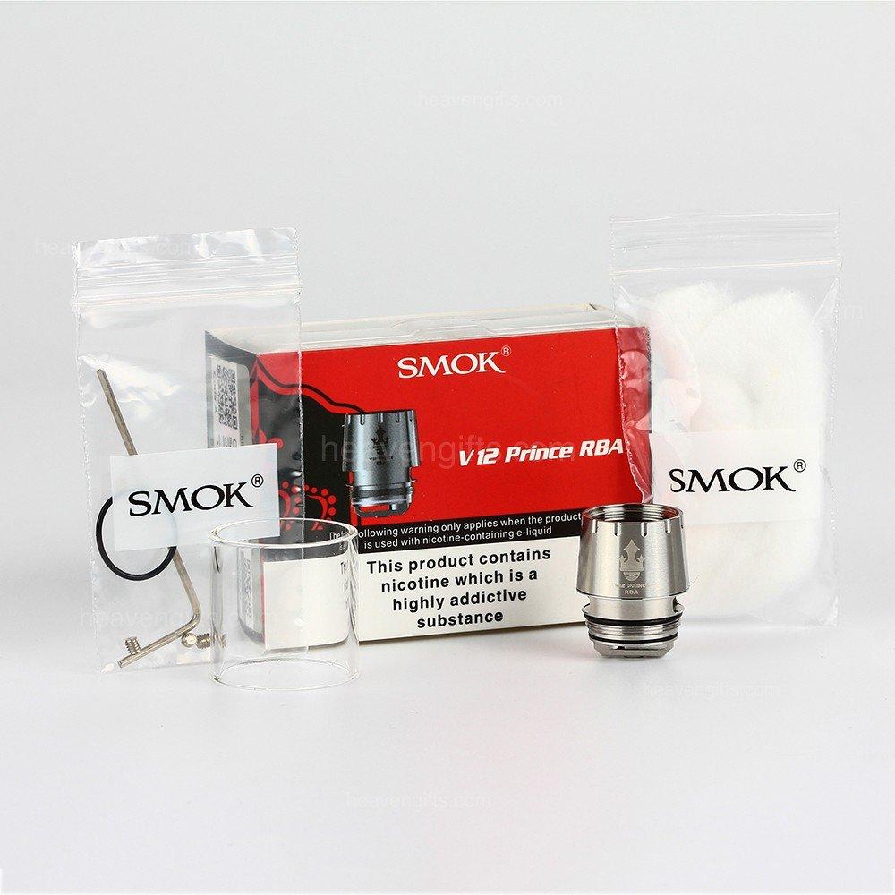 SMOK V12 Prince RBA (Dual Coil) 1-Each