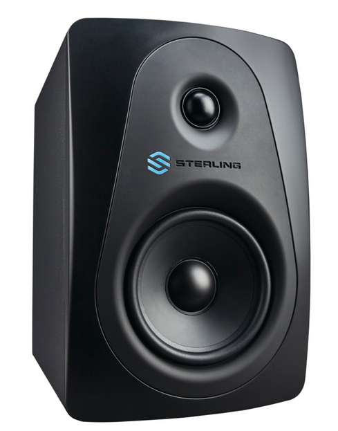 Sterling Audio MX5 5 Active Studio Monitor, Black Standard