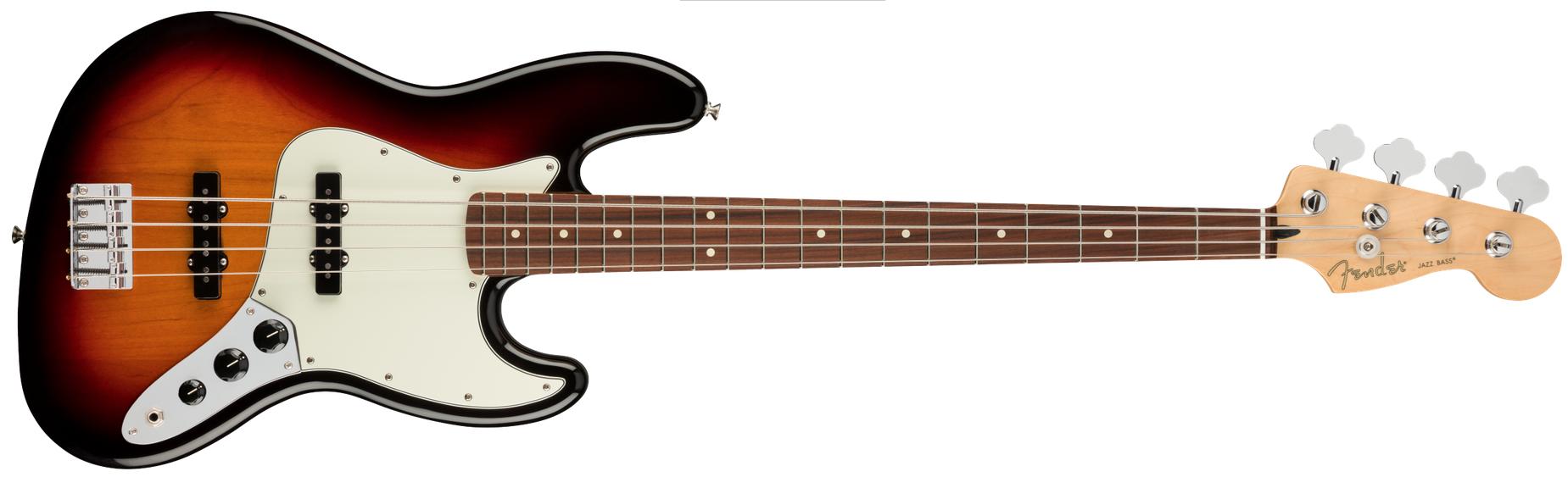 FENDER Player Jazz Bass Pau Farro Fingerboard 3-Color Sunburst