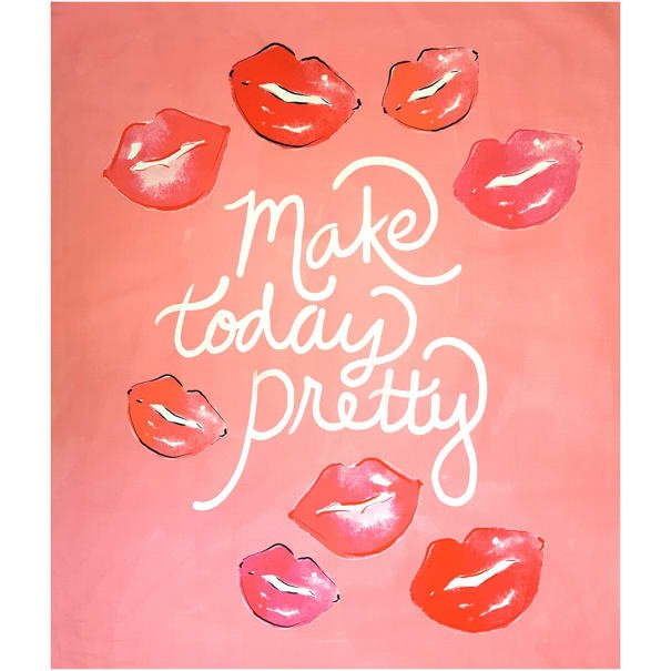 Make Today Pretty in Pink