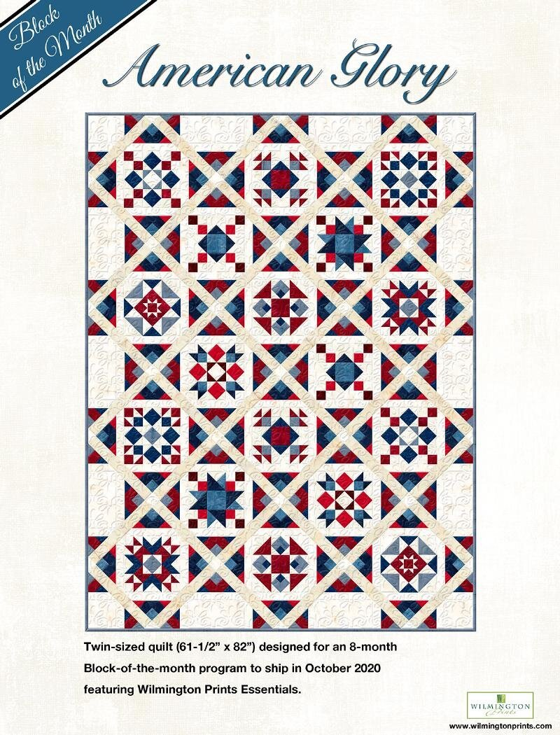 American Glory Block of the Month