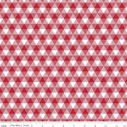 Land of Liberty Triangle Gingham Red