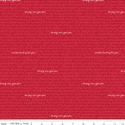 Land of Liberty Text Red