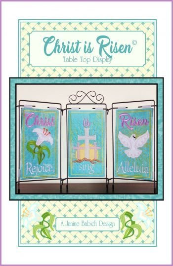 Christ is Risen Table Top Display