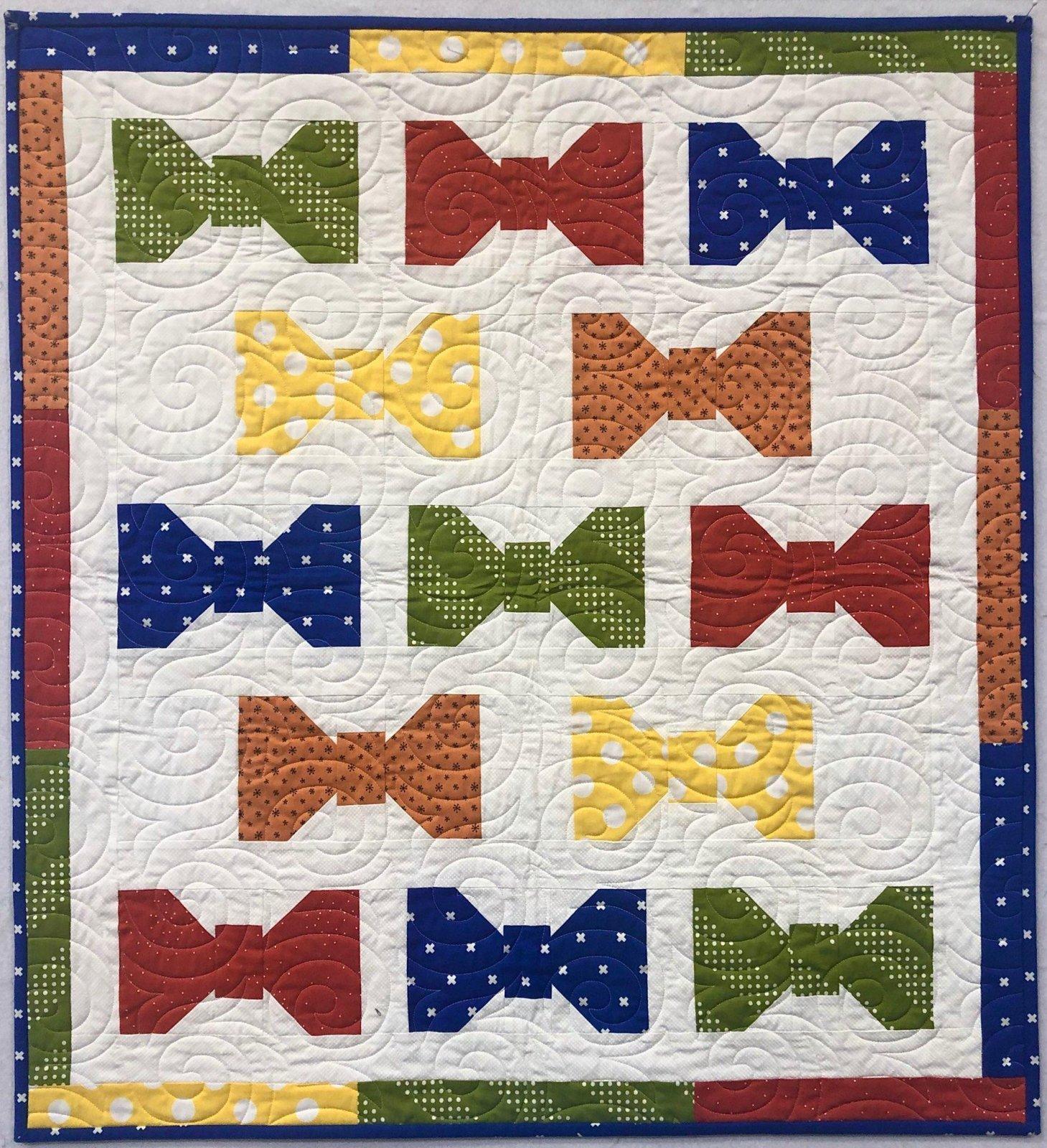 Bowtie Baby Quilt Kit