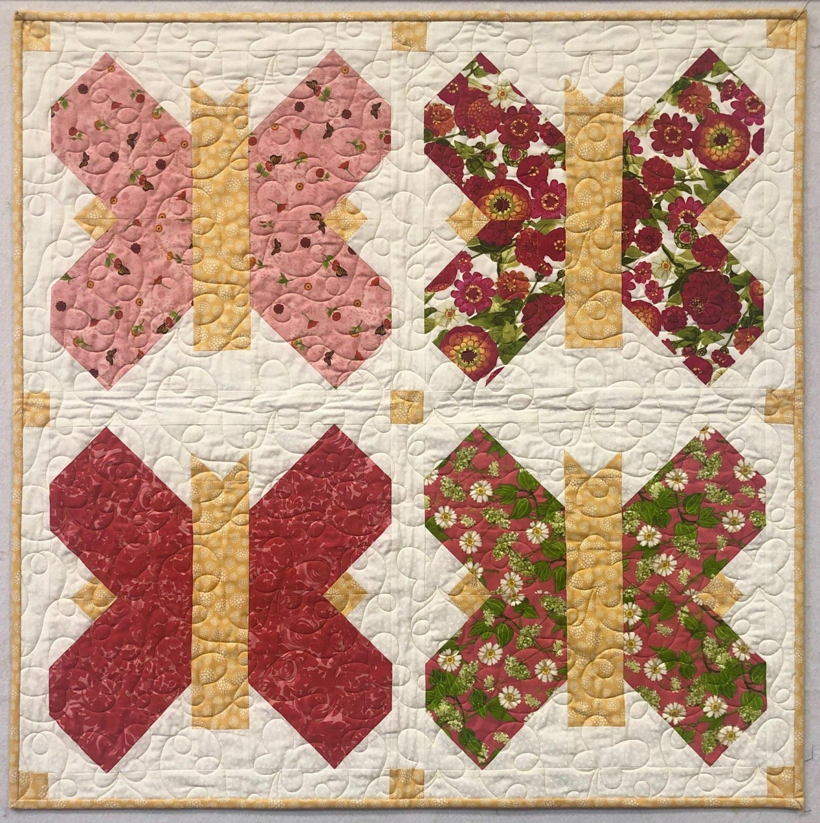 Butterfly Baby Quilt Kit