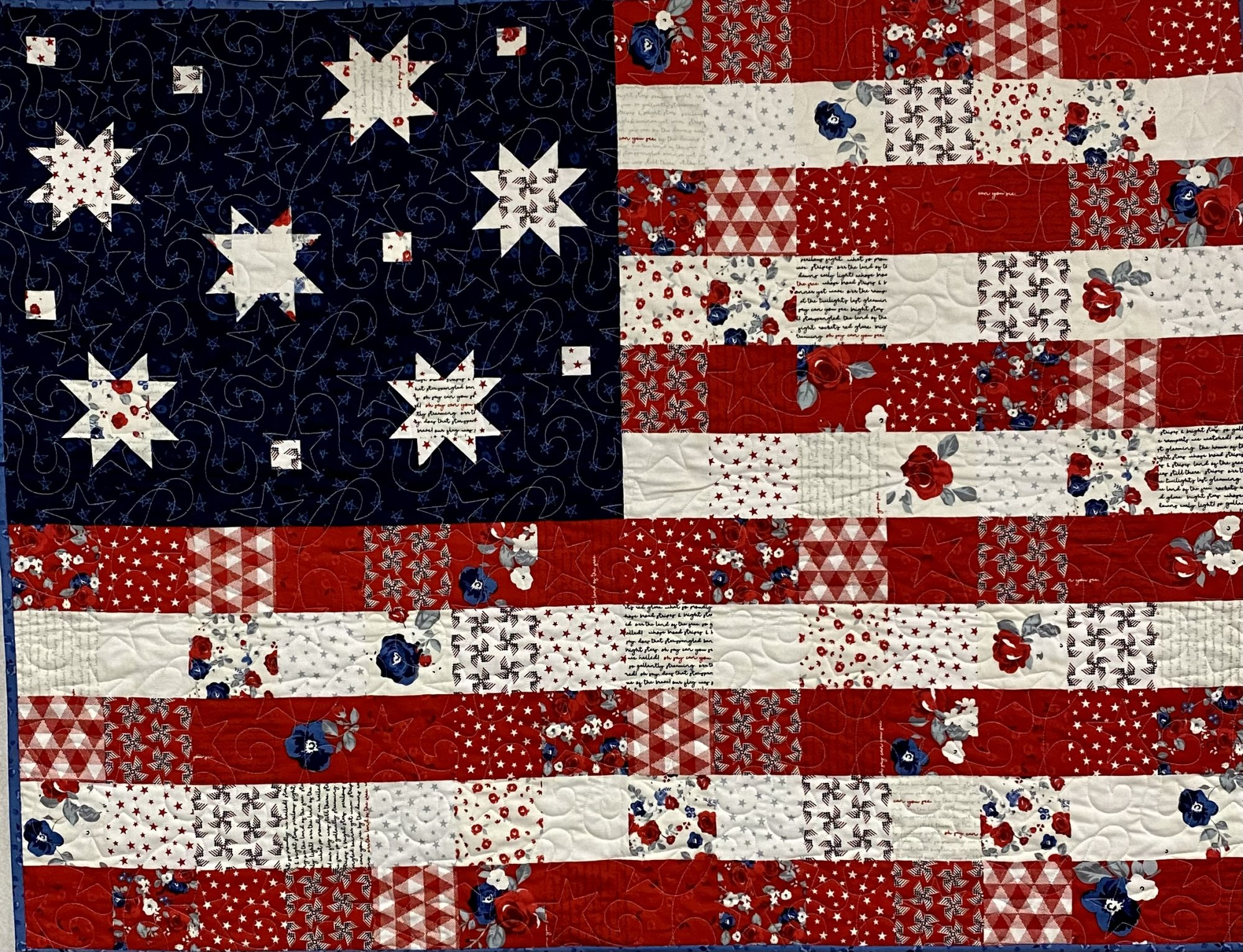 Land of Liberty Flag Quilt