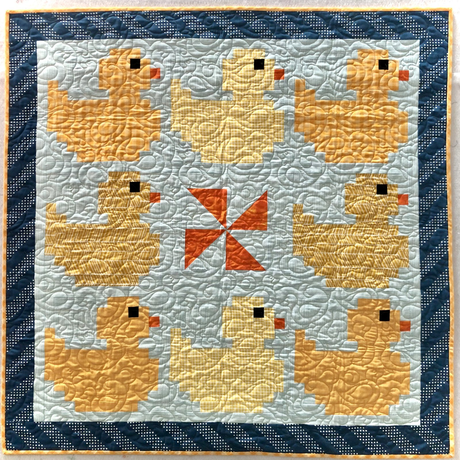 Duck Baby Quilt Kit