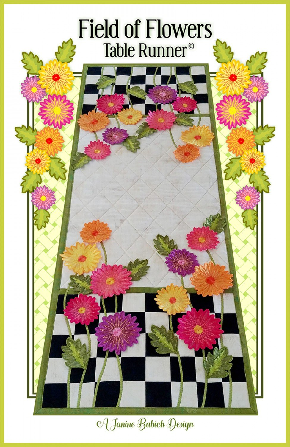Field of Flowers Embroidery CD