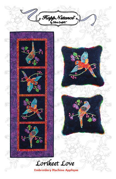 Lorikeet Love Table Runner