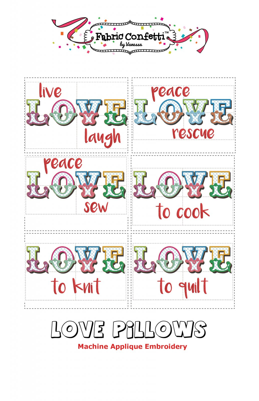 Love - Pillow Set